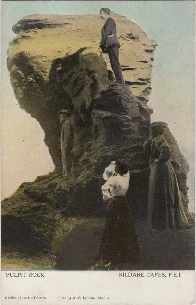 , Pulpit Rock Kildare Capes, P.E.I. (1205), PEI Postcards