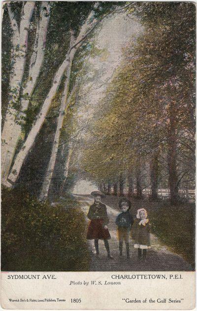 , Sydmount Ave. Charlottetown, P.E.I. (1203), PEI Postcards