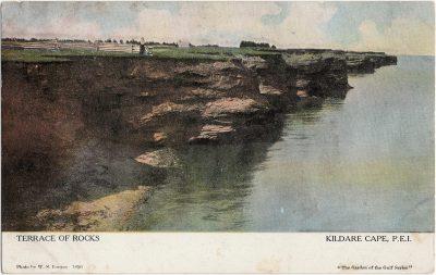 , Terrace of Rocks Kildare Cape, P.E.I. (1250), PEI Postcards
