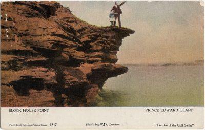 , Block House Point Prince Edward Island (1251), PEI Postcards