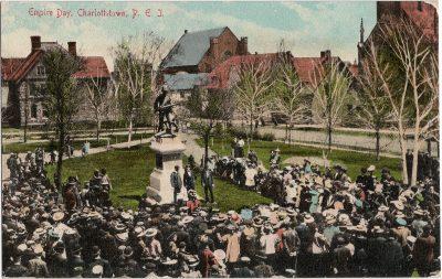 , Empire Day, Charlottetown, P.E.I. (1274), PEI Postcards