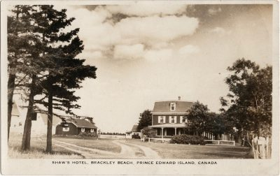, Shaw's Hotel, Brackley Beach, Prince Edward Island, Canada (1280), PEI Postcards
