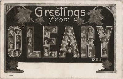 , Greetings from O'Leary P.E.I. (1284), PEI Postcards