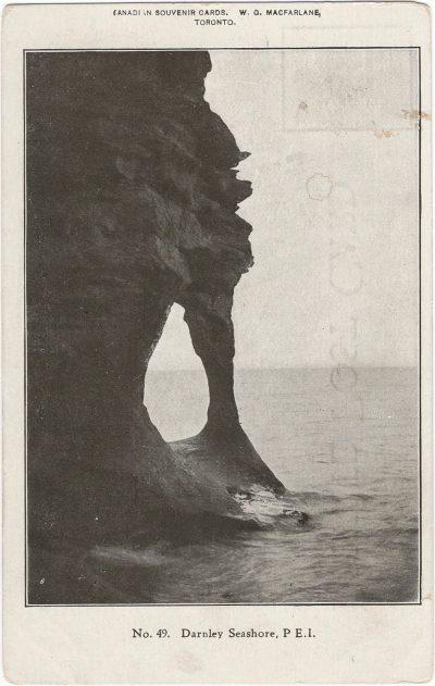 , Darnley Seashore, P.E.I. (1286), PEI Postcards