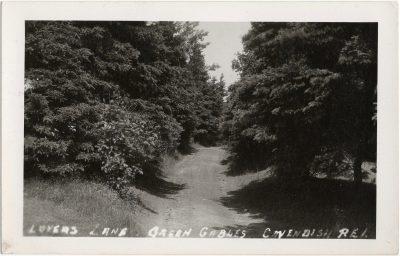 , Lovers Lane, Green Gables, Cavendish P.E.I. (1290), PEI Postcards