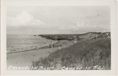 , Cavendish Beach, Cavendish, P.E.I. (1292), PEI Postcards