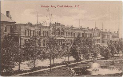 , Victoria Row, Charlottetown, P.E.I. (1301), PEI Postcards