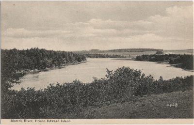 , Morrell River, Prince Edward Island (1304), PEI Postcards