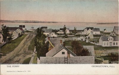 , The Ferry Georgetown, P.E.I. (1278), PEI Postcards