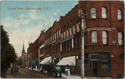 , Victoria Row, Charlottetown, P.E.I. (1322), PEI Postcards
