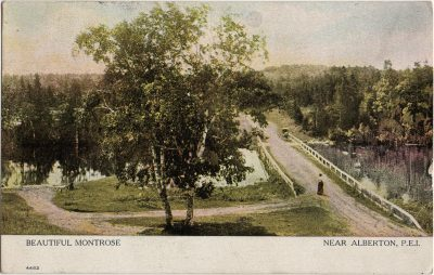 , Beautiful Montrose Near Alberton, P.E.I. (1315), PEI Postcards