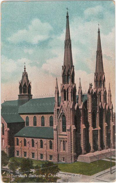 , St. Dunstan's Cathedral, Charlottetown, P.E.I. (1326), PEI Postcards