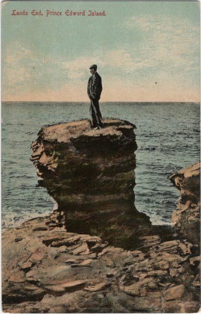 , Land's End, Prince Edward Island. (1327), PEI Postcards