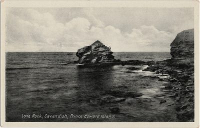 , Lone Rock, Cavendish, Prince Edward island. (1328), PEI Postcards