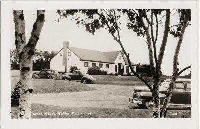 , Club House Green Galbles Golf Course (1329), PEI Postcards