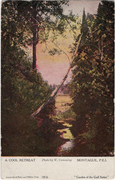 , A Cool Retreat Montague, P.E.I. (1331), PEI Postcards
