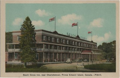 , Beach Grove Inn, near Charlottetown, Prince Edward Island, Canada. (1333), PEI Postcards
