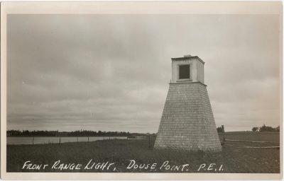 , Front Range Light, Douse Point, P.E.I. (1334), PEI Postcards