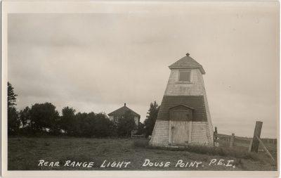 , Rear Range Light Douse Point, P.E.I. (1336), PEI Postcards