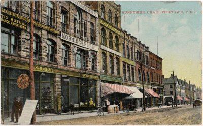 , Sunnyside, Charlottetown, P.E.I. (1341), PEI Postcards
