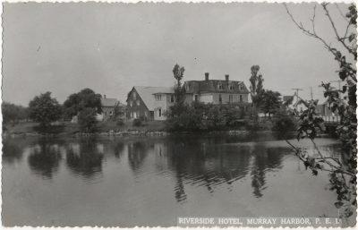 , Riverside Hotel, Murray Harbor, P.E.I. (1342), PEI Postcards