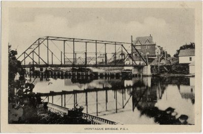 , Montague Bridge, P.E.I. (1344), PEI Postcards
