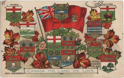 , Canada The Land We Love (1354), PEI Postcards