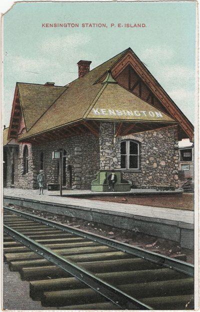 , Kensington Station, P.E. Island. (1364), PEI Postcards