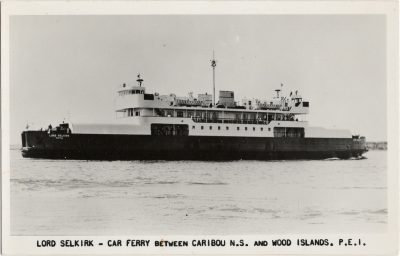 , Lord Selkirk – Car Ferry Between Caribou N.S. and Wood Islands, P.E.I. (1363), PEI Postcards