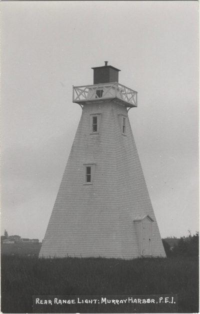, Rear Range Light: Murray Harbor, P.E.I. (1362), PEI Postcards
