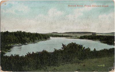 , Morrell River, Prince Edward Island (1374), PEI Postcards