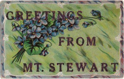 , Greetings from Mt. Stewart (1388), PEI Postcards