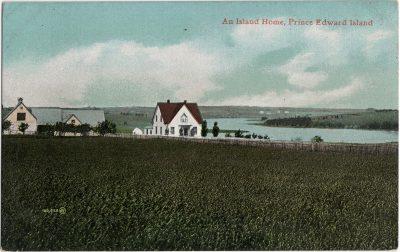 , An Island Home, Prince Edward Island (1386), PEI Postcards