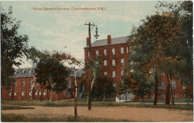 , Notre Dame Convent, Charlottetown, P.E.I. (1390), PEI Postcards