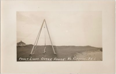 , Front Light, Outer Range, No. Rustico, P.E.I. (1393), PEI Postcards