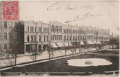 , Victoria Row, Charlottetown. (1395), PEI Postcards