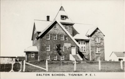 , Dalton School, Tignish, P.E.I. (1439), PEI Postcards