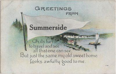 , Greetings from Summerside. (1418), PEI Postcards