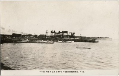 , The Pier at Cape Tormentine (1457), PEI Postcards