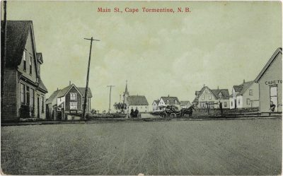 , Main St., Cape Tormentine, N.B. (1462), PEI Postcards