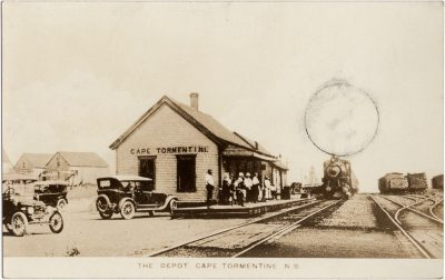 , The Depot, Cape Tormentine, N.B. (1465), PEI Postcards
