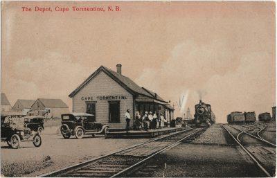 , The Depot, Cape Tormentine, N.B. (1466), PEI Postcards