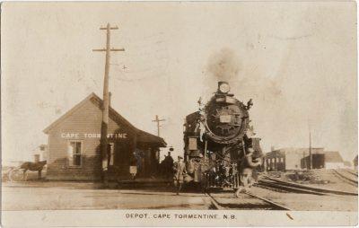 , Depot, Cape Tormentine, N.B. (1467), PEI Postcards