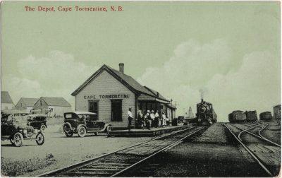 , The Depot, Cape Tormentine, N.B. (1468), PEI Postcards
