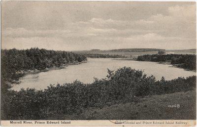 , Morrell River, Prince Edward Island (1480), PEI Postcards