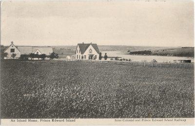 , An Island Home, Prince Edward Island (1488), PEI Postcards