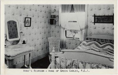 , Anne's Bedroom – Anne of Green Gables, P.E.I. (1489), PEI Postcards