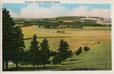 , Scenery, Prince Edward Island (1492), PEI Postcards