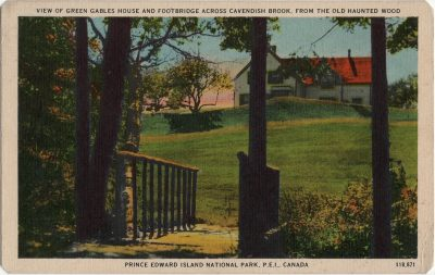 """, """"Green Gables"""" from the Haunted Wood, Cavendish, Prince Edward Island National Park. (1501), PEI Postcards"""