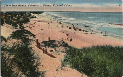, Cavendish Beach, Cavendish, Prince Edward Island (1502), PEI Postcards